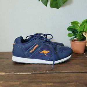 KangaROOs Sneakers Athletic Shoes Blue Mens Sz 6.5